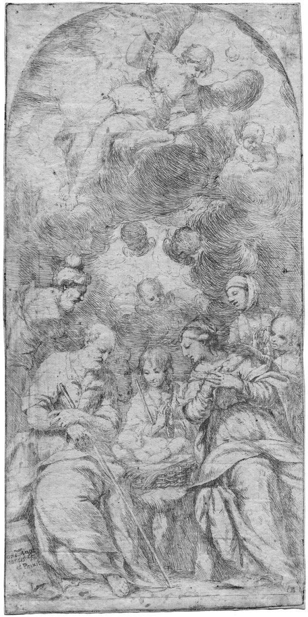 5012: Diamantini, Giuseppe: Die Anbet