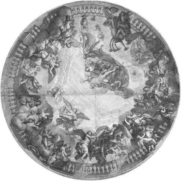 5015: Audran, Gérard: Gottvater und die Engelhierarchie