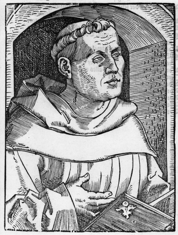5019: Baldung, Hans: Martin Luther vor einer Nische