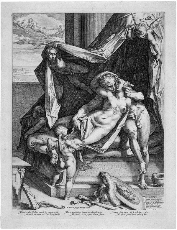 5145: Goltzius, Hendrik: Mars und Venus