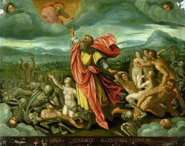 6000: Niederländisch, um 1600: Die Vision des Ezechiel