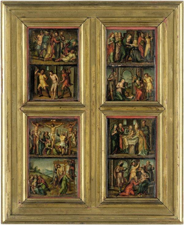 6001: Deutsch, um 1540: Szenen aus dem Leben Christi