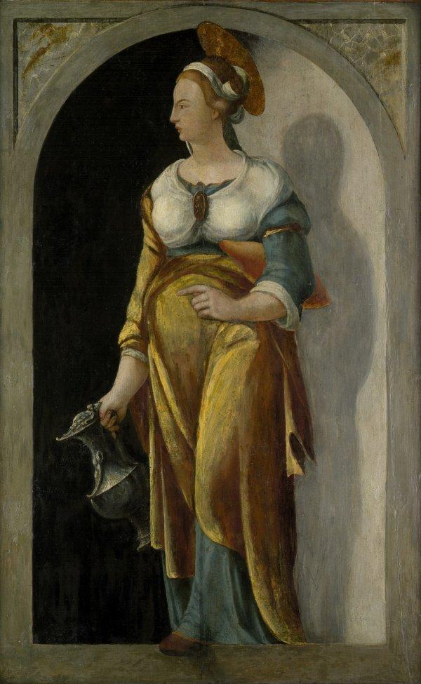 6002: Deutsch, um 1560: Die hl. Elisabeth von Thüringen