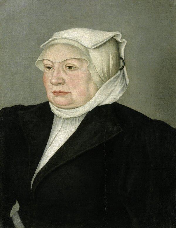 6003: Cranach, Lucas d. J. - Umkreis: Bildnis einer Bür