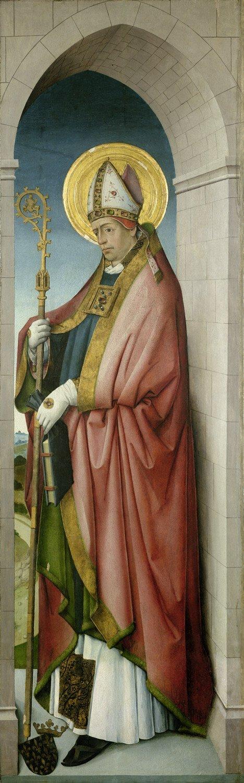 6004: Kölnisch, um 1490-1500: Der Heilige Ludwig von To