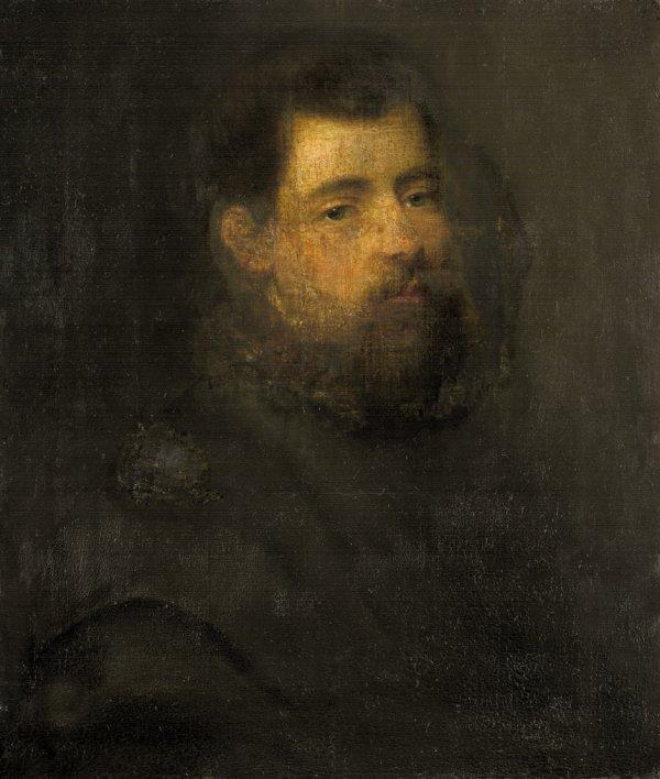 6006: Venezianisch, 16. Jh.: Portrait eines jungen Mann