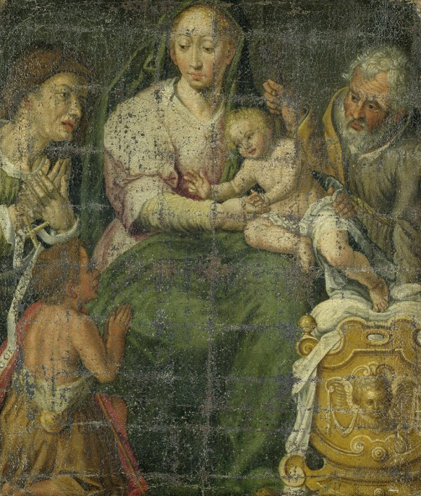 6011: Oberitalienisch, 1. Hälfte 17. Jh.: Die Hl. Famil