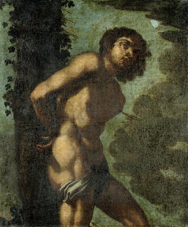 6022: Vaccaro, Andrea - zugeschrieben: Der hl. Sebastia