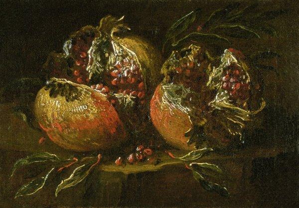 6023: Magnasco, Alessandro - zugeschrieben: Zwei Granat