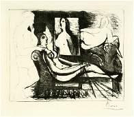 8326: Picasso, Pablo: Le peintre et son Modèle