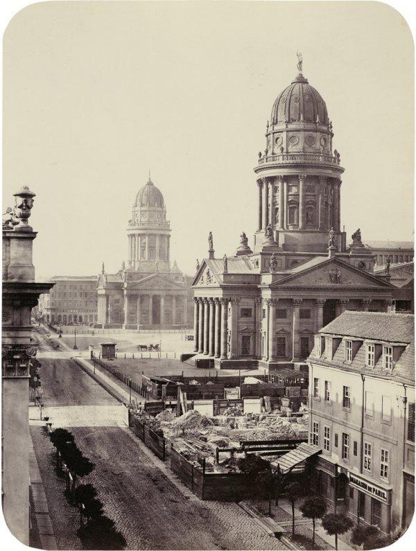 4009: Ahrendts, Leopold: View of Gendarmen Markt