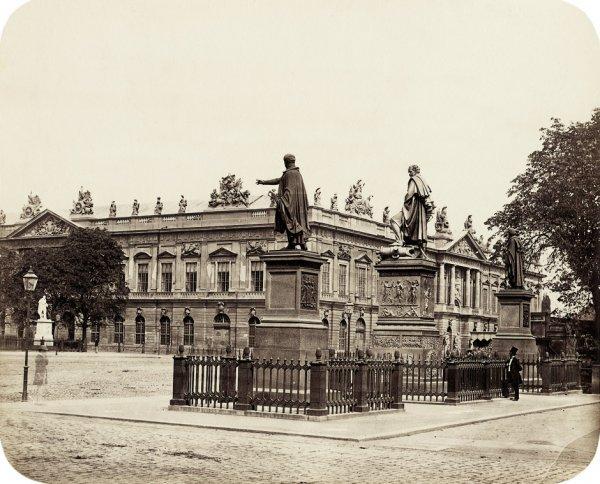 4013: Ahrendts, Leopold: Brandenburg Gate; Lustgarten;