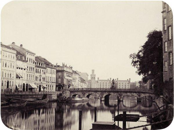 4015: Ahrendts, Leopold: Burg Straße - Lange Brücke, Be