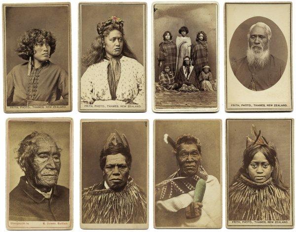 4111: New Zealand: Portraits of Maori people