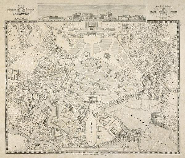 150: Hannover: Plan 1846