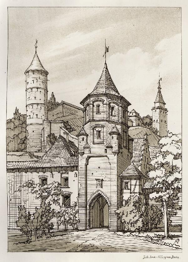 971: Dollinger, C.: Architektonische Reise-Skizzen