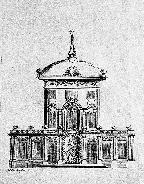 976: Hoppenhaupt, Johann Michael: Sammelband mit 29 Kup