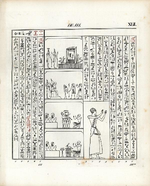 980: Lepsius, Karl Richard: Das Todtenbuch der Aegypter
