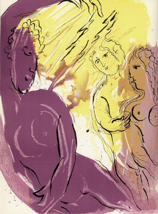 2607: Chagall, Marc: Bible
