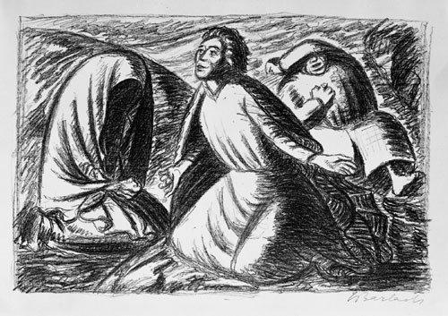 6419: Barlach, Ernst: Hoffnung und Verzweiflung