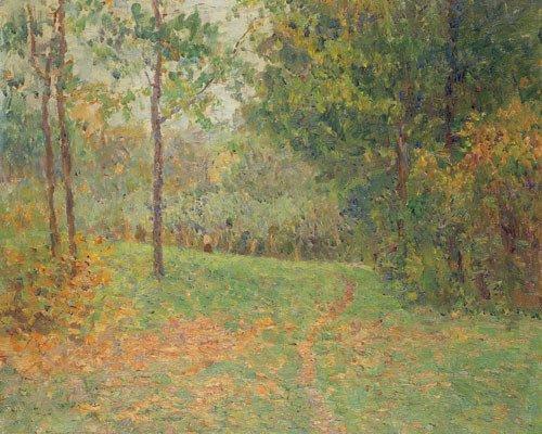 6421: Baum, Paul: Parklandschaft