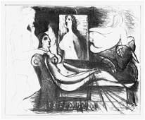6827: Picasso, Pablo: Le peintre et son modèle