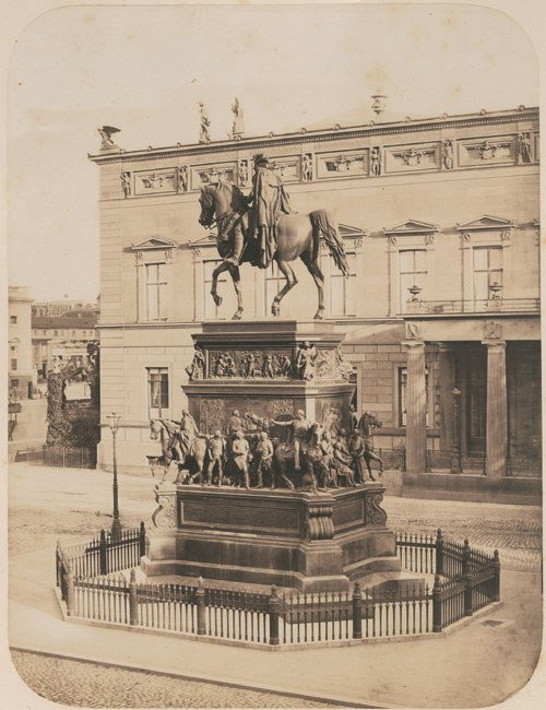 4102: Ahrendts, Leopold: Statue of Friedrich II