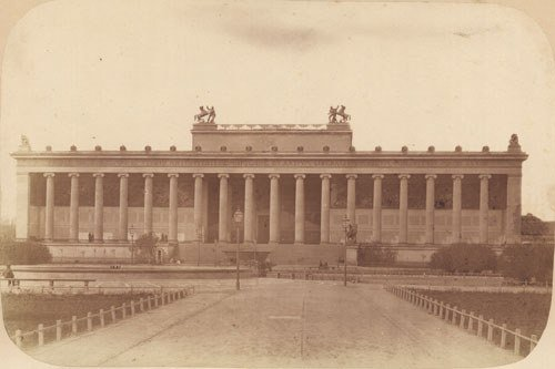 4103: Ahrendts, Leopold: View of the Altes Museum with