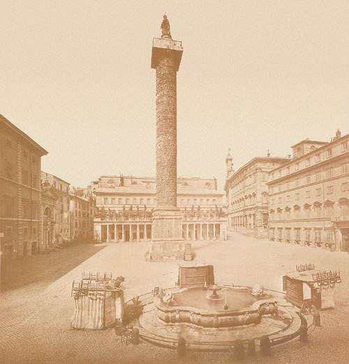 4114: Braun, Adolphe: Trajan''s Column, Rome