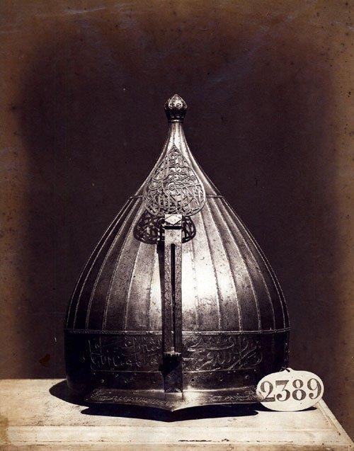 4117: Clifford, Charles: The helmut of Ülüc Ali Pascha