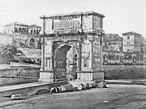 4118: Constant, Eugène: Arch of Titus