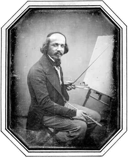 4124: Daguerreotypes/Ambrotypes: Portrait of a painter