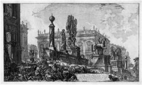 5264: Piranesi, Giovanni Battista: Veduta del Campidogl