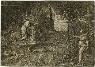 5509: Ghisi, Giorgio: Der Traum des Raphael