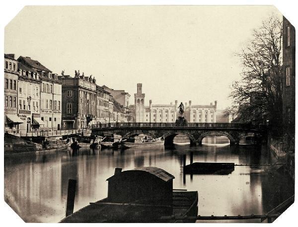 4001: Ahrendts, Leopold: Burgstraße - Lange Brücke, Bli