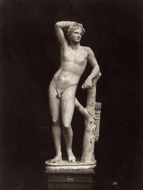 4004: Alinari, Leopoldo: The Apolino statue