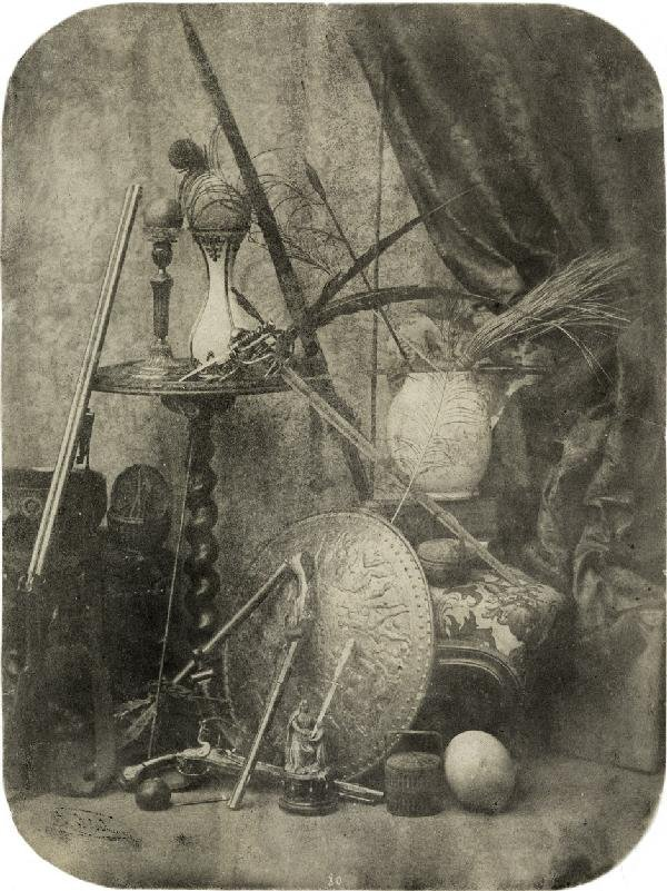 4012: Bilordeaux, Adolphe: Still life with weapons