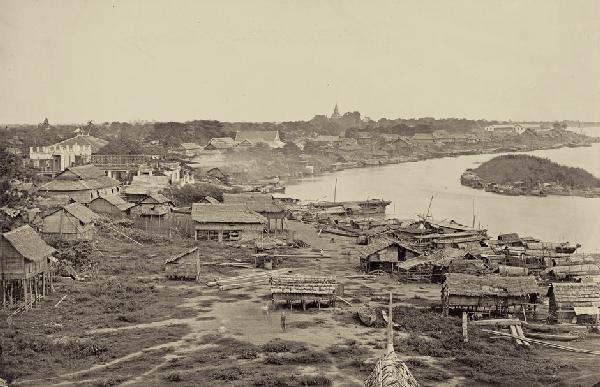 4023: Cambodia: View of Phnom Penh
