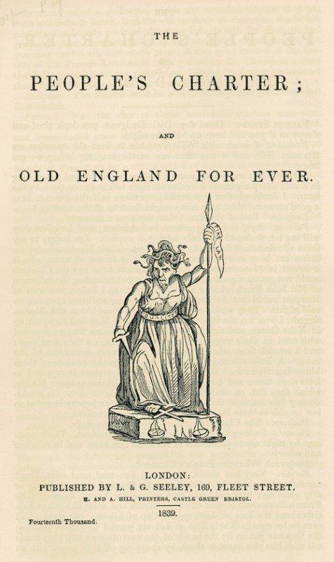 1501: Aiken, Peter Freeland: The people's charter, Lond