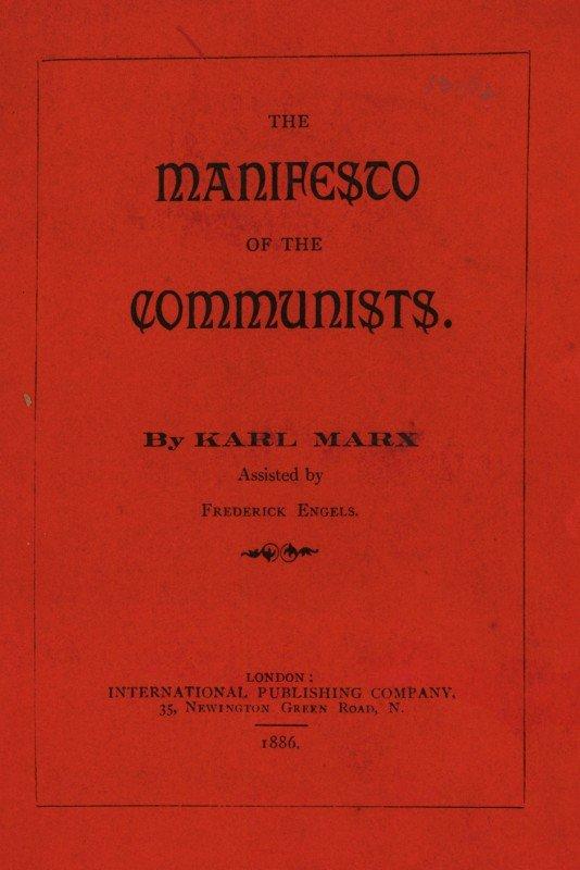 1561: Marx, Karl und Engels, Friedrich : Das Kommunisti