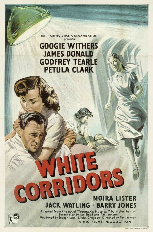 3769: Anonym, England: White Corridors. 1951