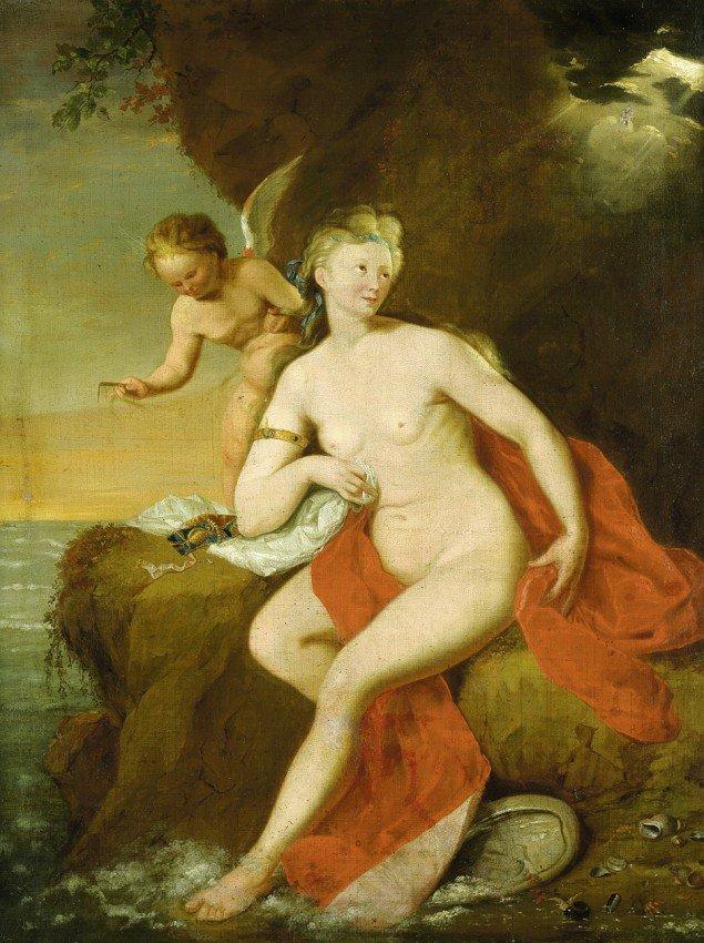 6005: Schalcken, Godfried - nach: Venus bei der Toilett