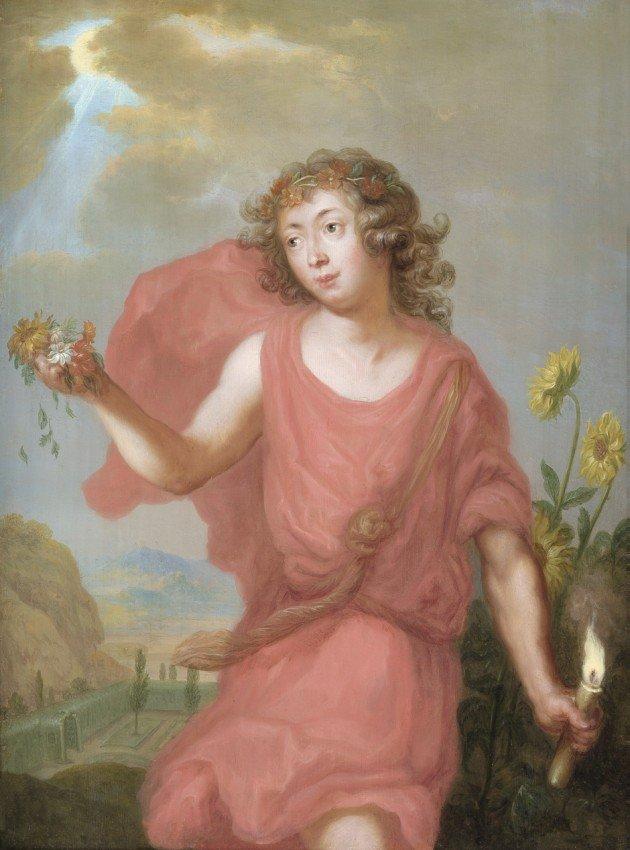 6006: Sandrart, Joachim von - Werkstatt: Allegorie des