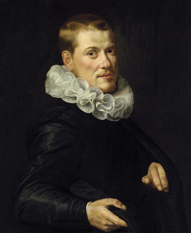 6015: Amsterdam, um 1620: Bildnis eines jungen Mannes