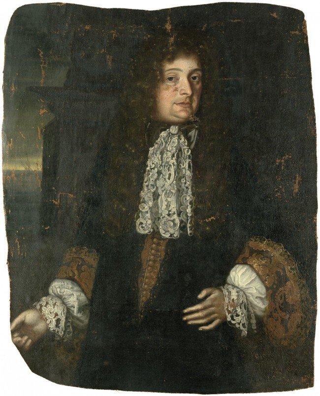 6021: Deutsch um 1680: Bildnis Friedrich I. von Steinbe