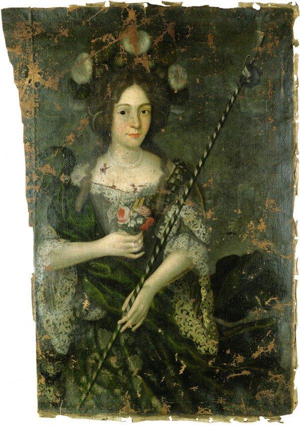6022: Deutsch, 1684: Bildnis der Dorothea Elisabeth von