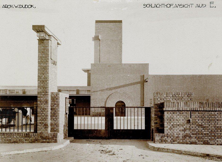 4617: Dudok, Willem Marinus: Slaughter house