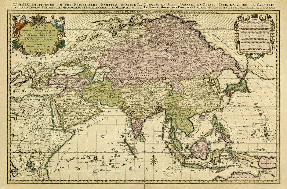 3: Asien (Jaillot/Sanson): l'Asie