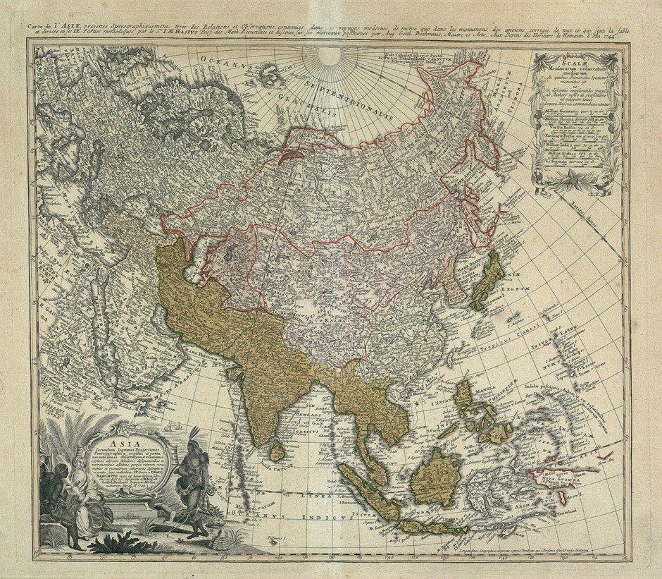 4: Asien / Rußland: Böhmen