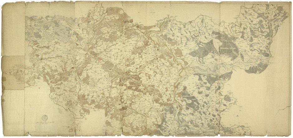 10: Brandenburg: Federzeichnung